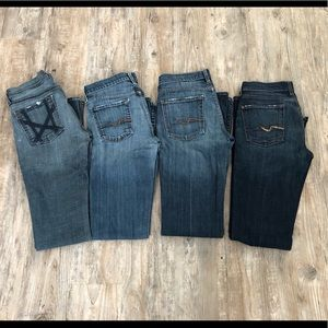 7 For All Mankind Jeans size 26 size 27